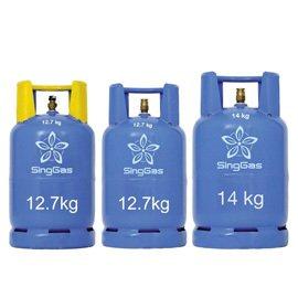 SingGas 12kg and 14kg LPG cylinders