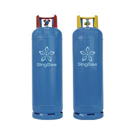 SingGas LW 50kg commercial and industrial gas cylinders