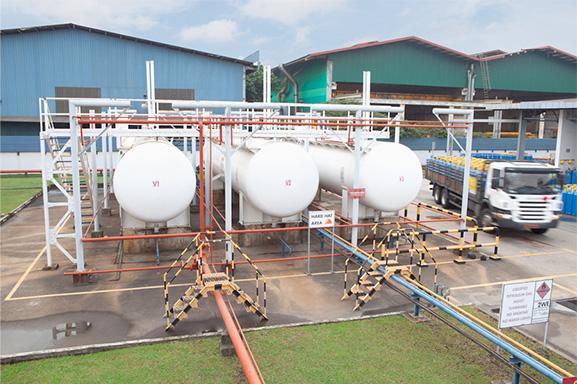 SingGas LPG Gas Supplier in Singapore