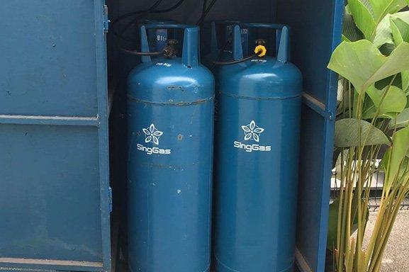 SingGas lpg cylinder supplier