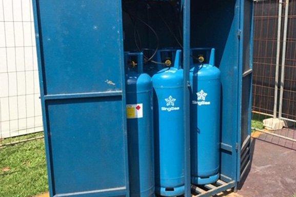 SingGas lpg cylinders